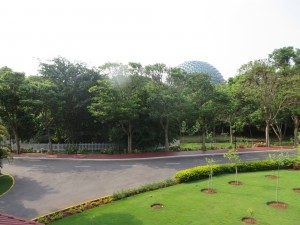 Infosys training campus in Mysore, India...amazing!